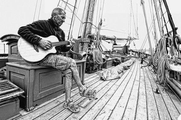 Patrick, guitariste sur le pont