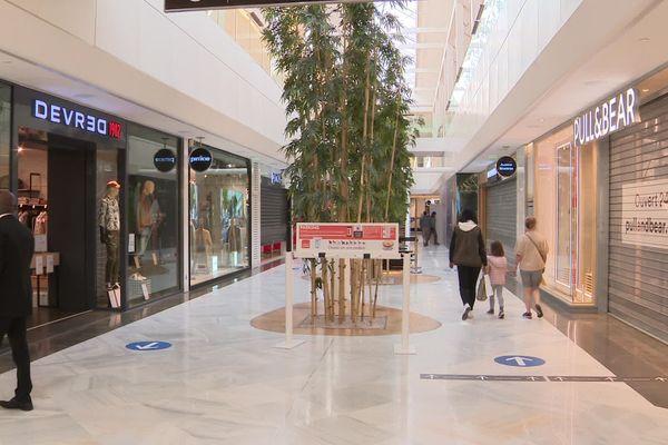 La galerie marchande du centre commercial de la Toison d'Or (archives)