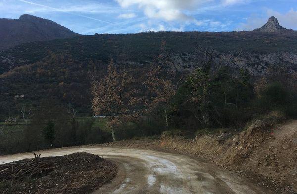 La nouvelle piste d'un kilomètre a été ouverte à la circulation début janvier et a coûté 2 300 000 euros.
