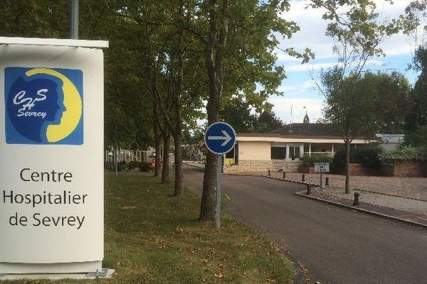 Le CHS (centre hospitalier spécialisé) de Sevrey, à Chalon-sur-Saône, en Saône-et-Loire