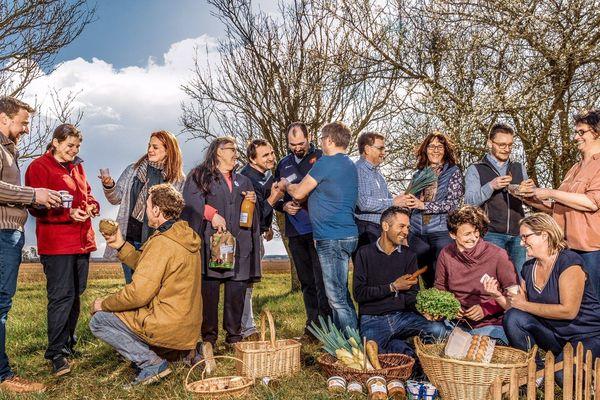 Trente-et-un agriculteurs lorrains qui ont hâte de faire découvrir leurs produits aux citadins du Grand-Nancy