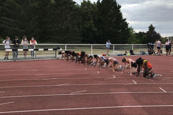 Un protocole sanitaire a été établi afin que le traditionnel meeting de la ligue du Centre-Val de Loire d'athlétisme se déroule dans les meilleures conditions.