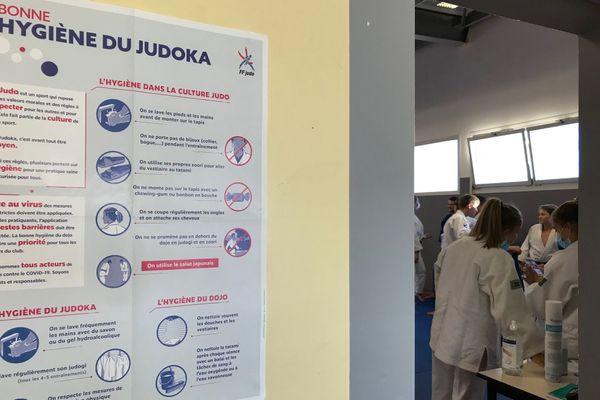 Au Montpellier Judo Olympic, le protocole sanitaire est strict pour cette rentrée 2020