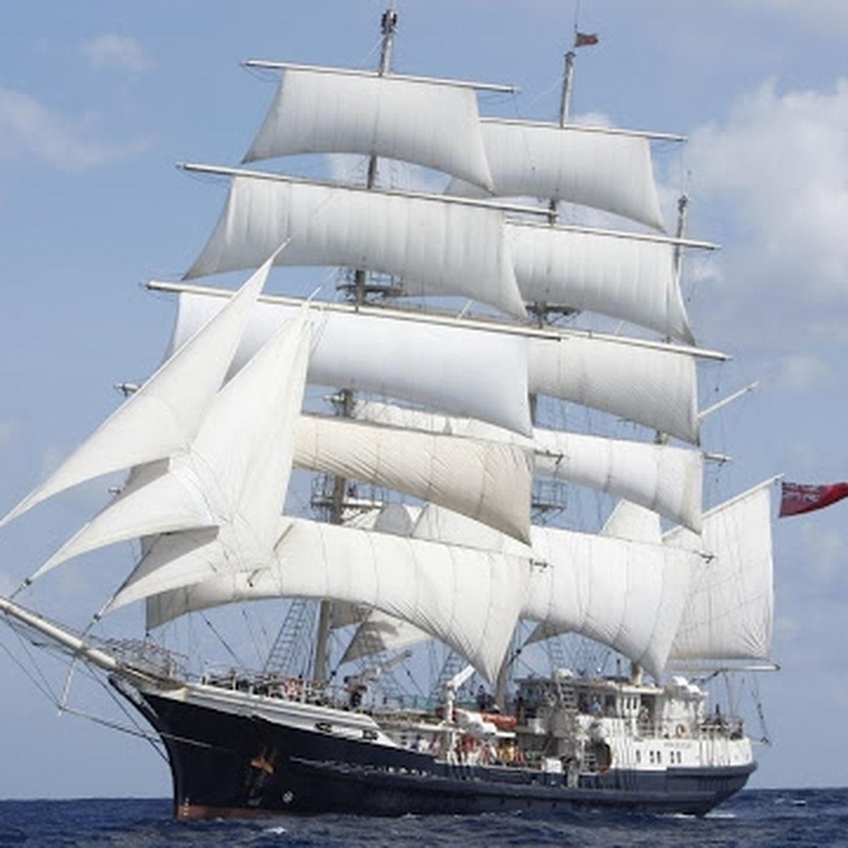 Les Bateaux De L Armada Le Tenacious Trois Mats Barque Anglais Sans Prejuges