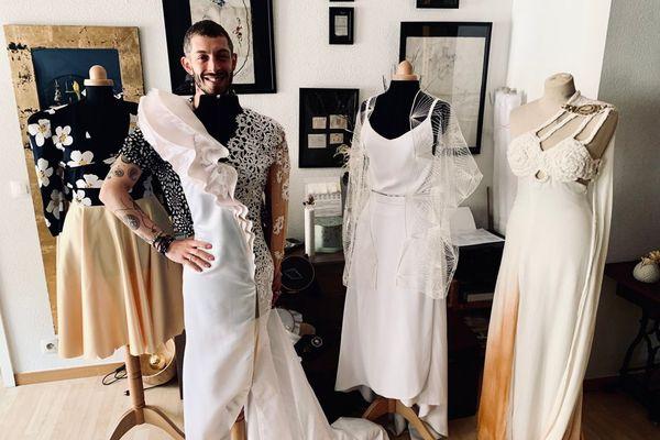 Cédric et la robe de mariée de Viviann