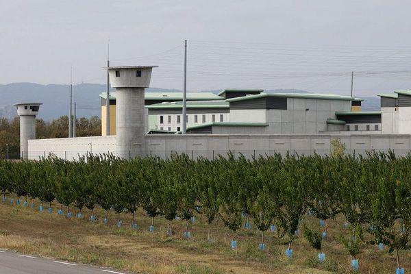 Tirs de mortiers d'artifice sur un mirador de la prison de Valence -image d'archives