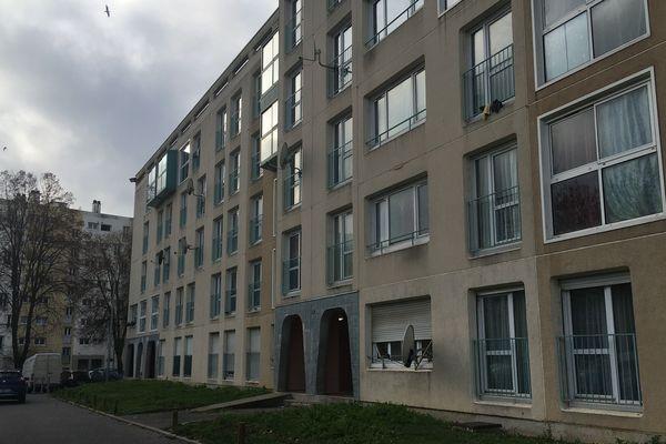 Le lieu où la victime a été prise en charge, ce dimanche 26 janvier, à Amiens.