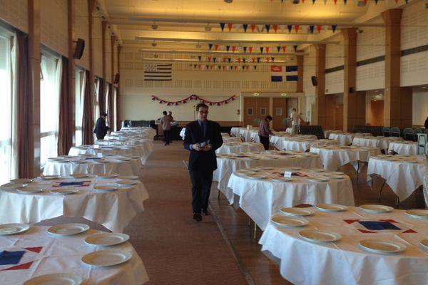 620 convives sont attendues au dîner patriotique, organisé à St Malo