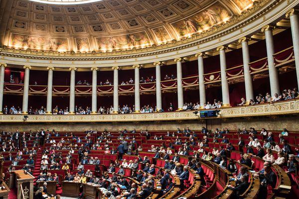 l'assemblée nationale, lors d'une séance de questions au gouvernement