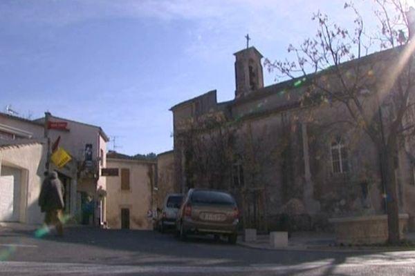 Nîmes-Courbessac - le quartier où la joggeuse tué jeudi résidait avec sa famille - 26 janvier 2013.