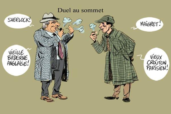 Concours de fumeur de pipe aux Mesneux (Marne).