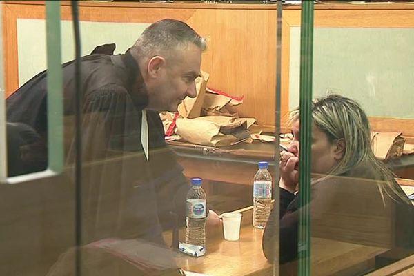 Fatiha Taoui lors de son procès