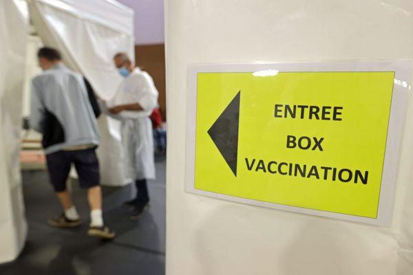 Centre de vaccination contre le Covid-19.