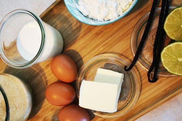 Les ingrédients de la tarte au citron meringuée de Laurent Bacquer de La Cantine des Chefs