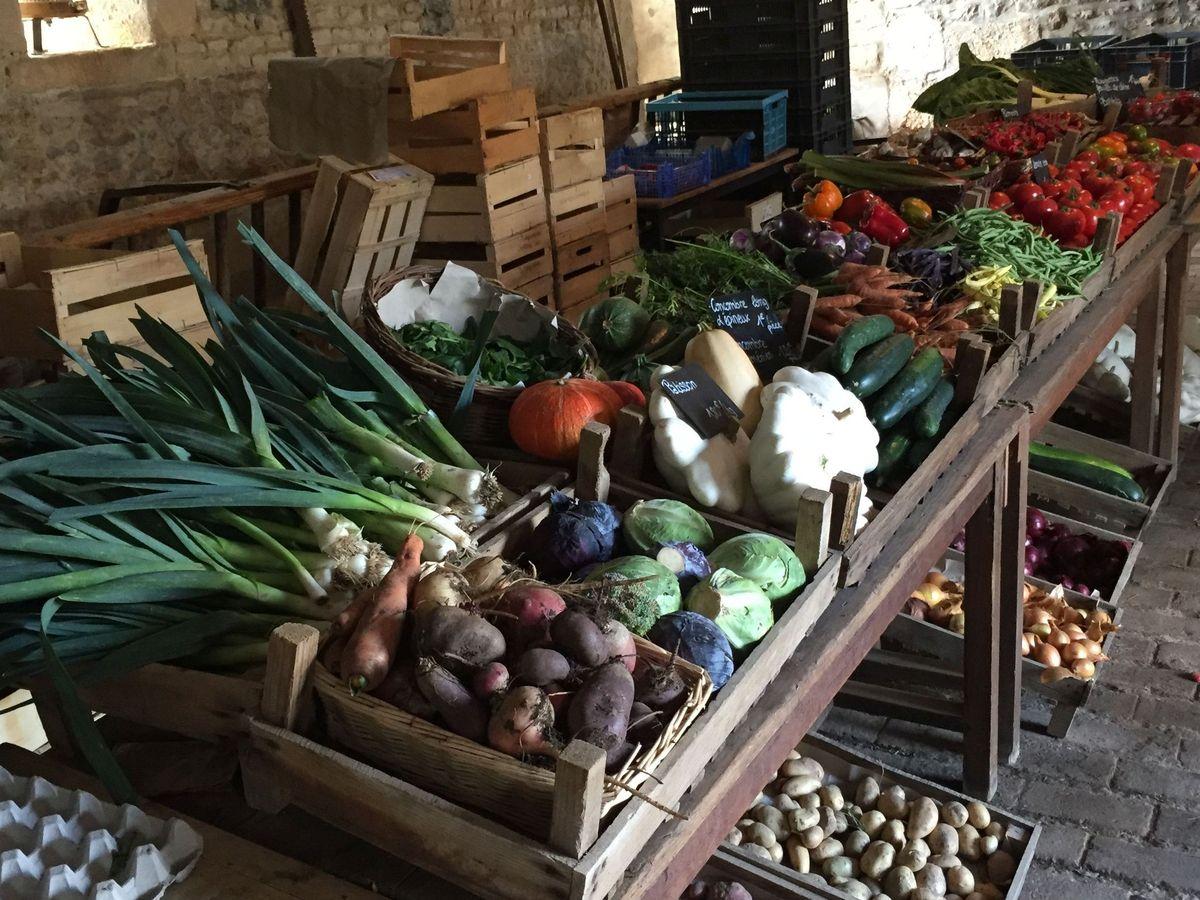La Marianne des légumes bio :