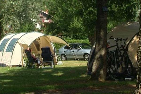 Le camping du Haut-Koenigsbourg à Lièpvre
