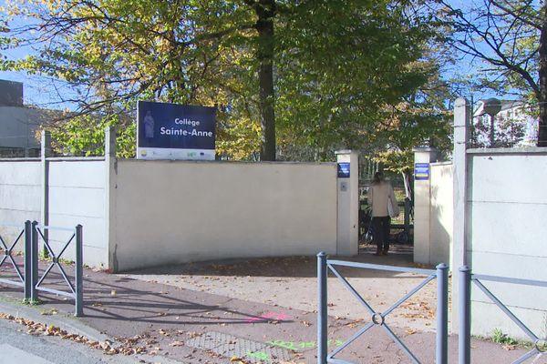 Collège Sainte-Anne déjà visé par des inscriptions.