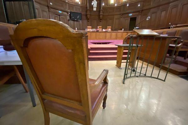 La cour criminelle de l'Hérault, à Montpellier, le 24 février 2021.