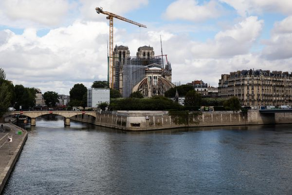 Les travaux de restauration de Notre-Dame, le 16 juin dernier (illustration).