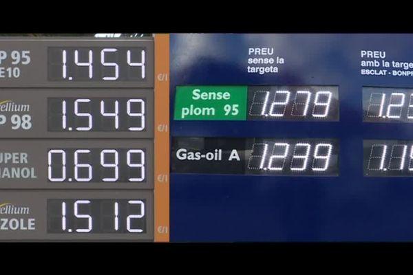 Le carburant est moins cher en Espagne ; les Français vont faire le plein à la frontière