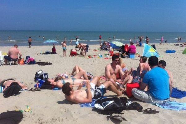La plage de Malo ce dimanche.