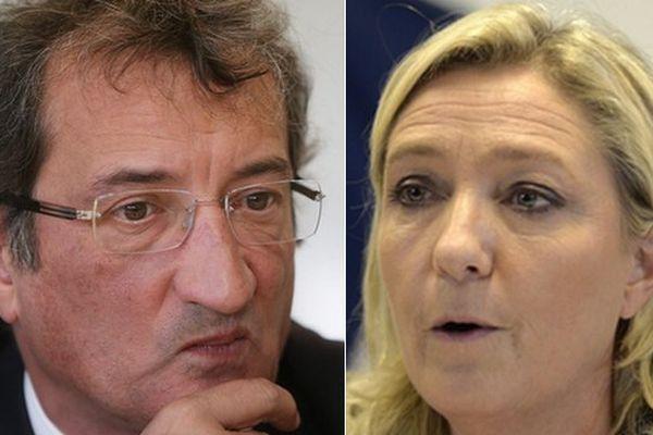 François Lamy - Marine Le Pen