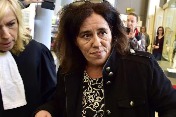 Maria Da Cruz lors de son premier procès en novembre 2018