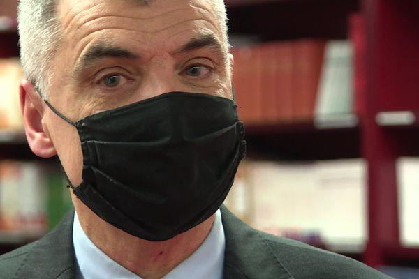 """""""Dès lors que la personne viole le périmètre, les forces de l'ordre sont prévenues."""" Rémi le Hors, président du tribunal judiciaire de Nantes."""