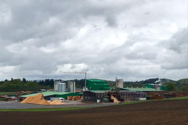L'entreprise Bois et Scieries du Centre à Sauviat-sur-Vige en Haute-Vienne