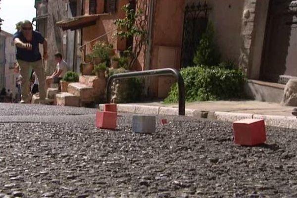 Le 35ème championnat du monde de boules carrées s'est déroulé à Cagnes-sur-Mer, le 15 août 2014