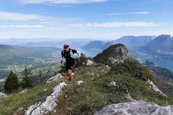 Laurent Sitbon, 47 ans, est un habitué des Ultra Trails.
