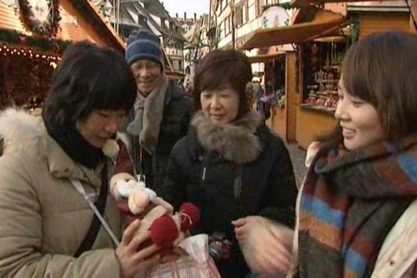 Le nombre de touristes japonais à Strasbourg a augmenté de 55% en deux ans.
