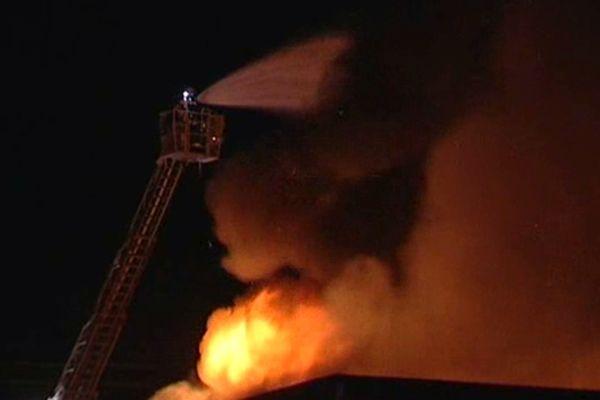 """incendie de l'atelier de réinsertion """"Le Tremplin"""""""