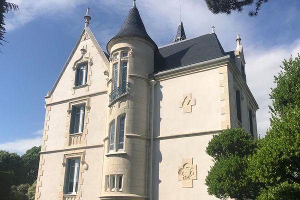La villa La Jetée à Fouras (Charente-Maritime)