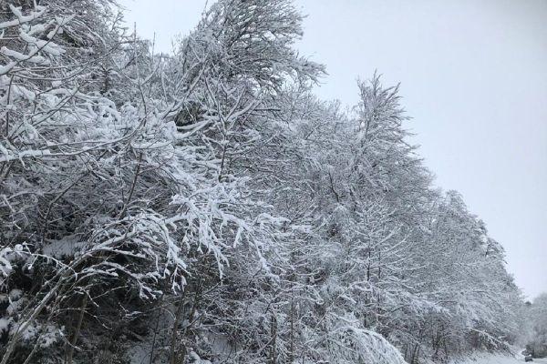 Le Puy-de-Dôme et le Cantal ont été placés en vigilance orange neige-verglas ce dimanche 27 décembre par Météo France.