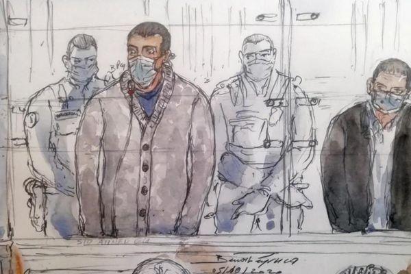 En première instance, Sid Ahmed Ghlam a été condamné à la réclusion criminelle à perpétuité assortie d'une peine de sûreté de 22 ans et d'une interdiction définitive du territoire français à l'issue de sa peine.