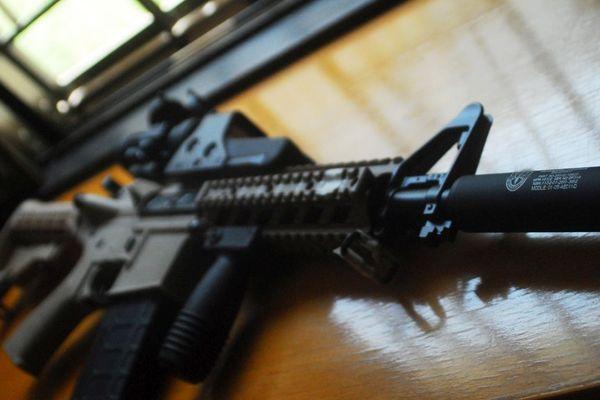 Photo d'illustration d'un Airsoft M4.