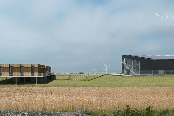 La construction de l'usinde d'hydrogène vert de Bouin devrait débuter au printemps, pour un début d'activité au printemps 2021.