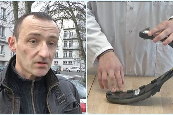 Mikaël Lamour et la prothèse