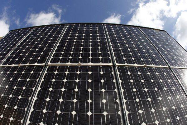 ILLUSTRATION - Vue de panneaux photovoltaïques