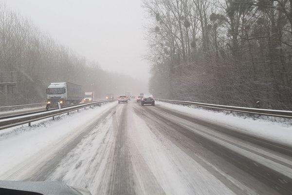 Circulation au ralenti au niveau de Clermont-de-l'Oise ce mardi matin.