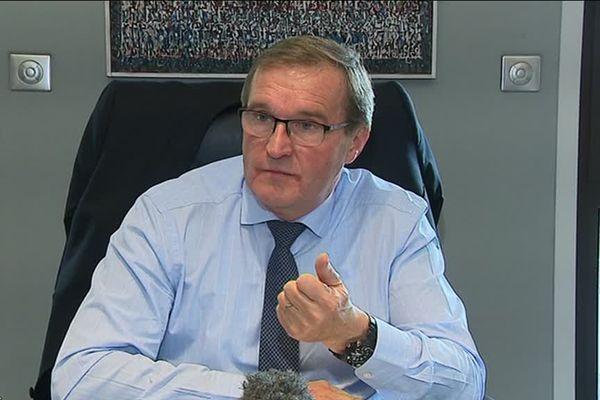 Germinal Peiro, président du Conseil Départemental de Dordogne