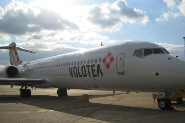 Illustration - Un appareil de la compagnie aérienne espagnol low cost Volotea.