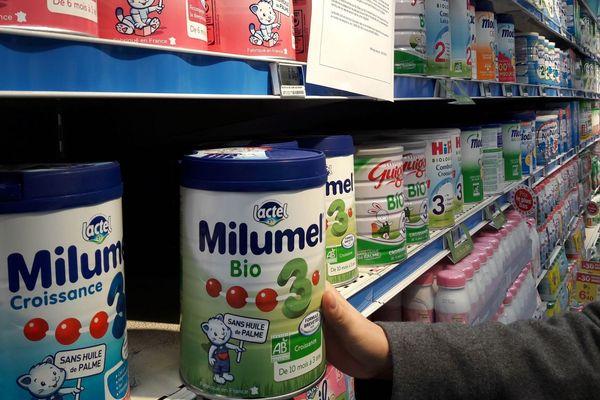 Que vont devenir les boites de lait infantile reprises par Lactalis ?