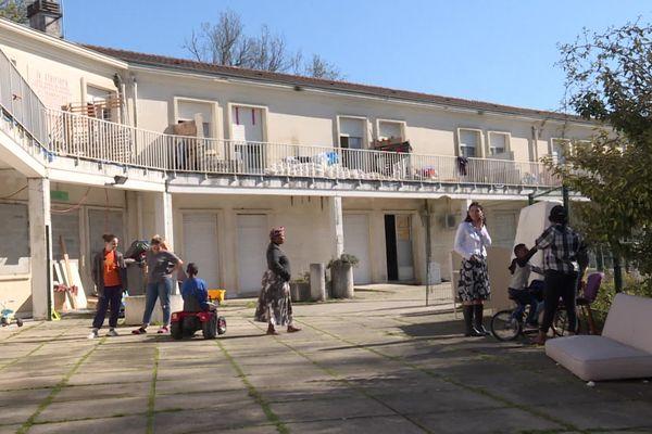 Les derniers jours du squat de Gradignan près de Bordeaux
