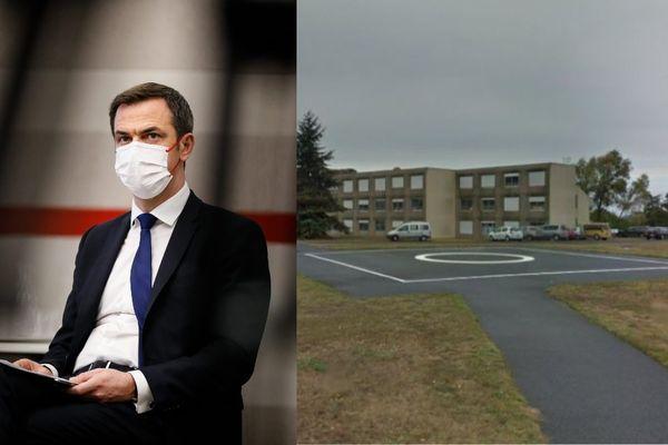 Olivier Véran a annulé sa visite à l'hôpital psychiatrique de Thouars, entraînant la colère des syndicats.