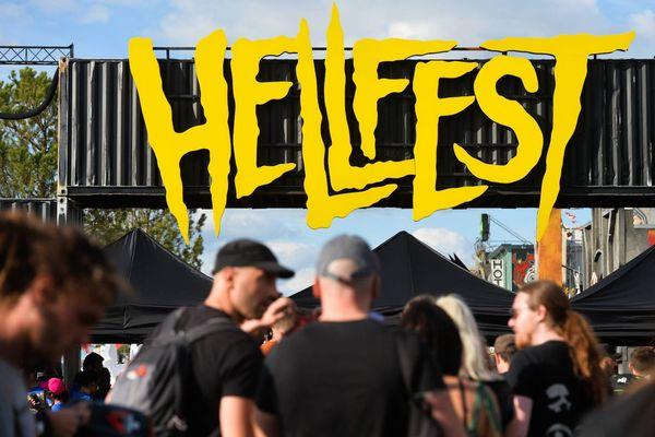 L'entrée du Hellfest