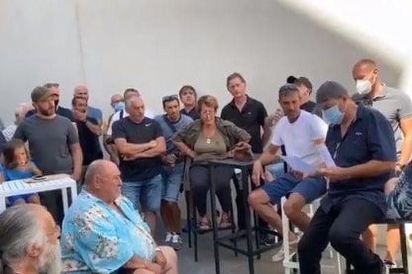 Des militants ont occupé les locaux d'Erilia, à Ajaccio.