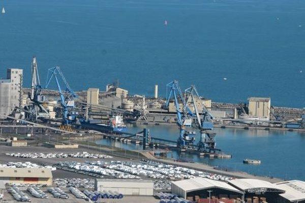 Le port de Sète illustration