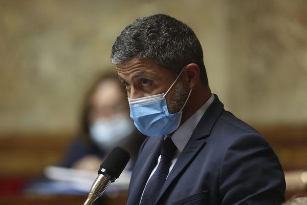 Jean-Félix Acquaviva, député de la 2ème circonscription de Haute-Corse, à l'Assemblée Nationale le 6 octobre 2021.
